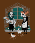 Lizzie and Hershel by Fragile-yet-CunNINg