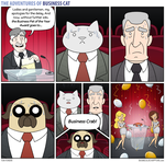 The Adventures of Business Cat - Winner by tomfonder
