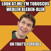 Tobuscus meme thing Gabuscus impersonation by snakehands