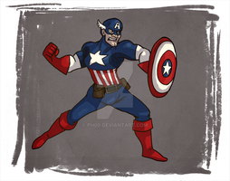 Making Cap mad by ph00