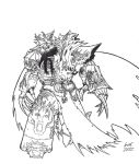Konrad Curze - Primarch of the Night Lords by Greyall
