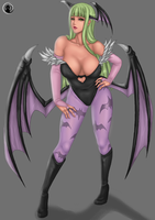Morrigan.... by MoonRusty