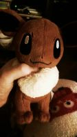 Eevee Plushie by Kawaii-Chain