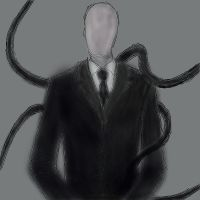 Slender Man Airbrush by Mackdoodle99