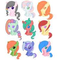 Filly Adoptables OPEN by MyLittleAdopts
