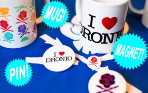 Mugs,pins and magnets by dronio