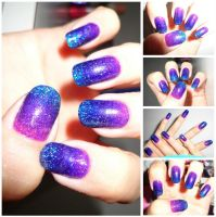Gradient Nail by JulianaBatista