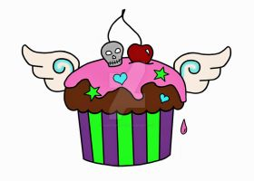 Death By Cupcake by Chastangela