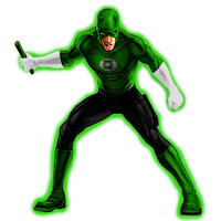 Daredevil Green Lantern by 666Darks