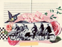 Bicycle Race by DixieLeota