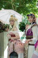 Steampunk Peach And Zelda by Typical-Mental