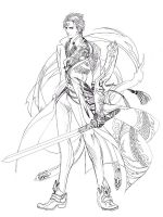 character design  no1 by jiuge