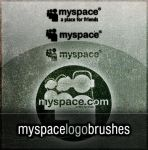 MySpace Logo Brushes by dreamslikefire
