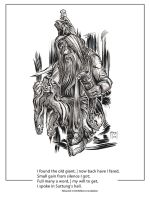 The Havamal Project: Day 38, verse 104 by samflegal