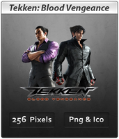 Tekken: Blood Vengeance - Anime Icon by DevilL-Dante