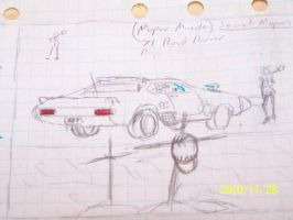 Auto sketches American MFPV8 by coonk9