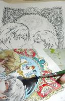 hetalia-Russia and Prussia by Milwa-cz