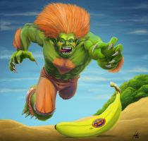 Blanka SF 25an. Tribute by fedde