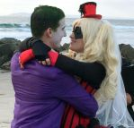 Joker and Harley Wedding by AllyOfExcuses