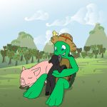 Resting at the Orchard's Edge by oncewasmine