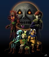 Majora's Mask by Yukupo