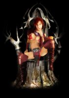 Red Throne by dovel100