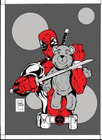 Deadpool Fun with Toys by sketchheavy