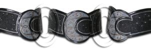 The Moon + The Universe Collar by tupali