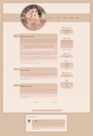 Blogspot template  Tamtego dnia by MySensitiveHeart