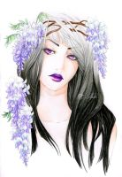 - Altais with Wisteria - by ooneithoo