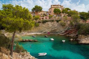 Beautiful bay in Mallorca by Roman89