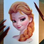 Fire Elsa PRINT! by AtomiccircuS