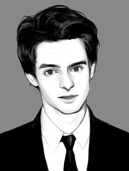 Andrew Garfield by XiPersei