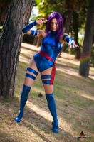 Psylocke by fabiohazard