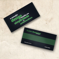 Visitor Card by guw