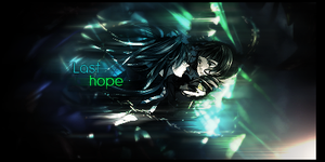 Black Rock Shooter LAST HOPE by Xeroxsis247