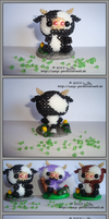 Black cow by Zoey-01