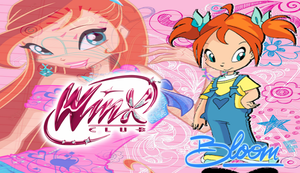 Winx Club Bloom As A Kid Wallpaper by Wizplace