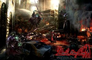 Devil May Cry Wallpaper by Azmae