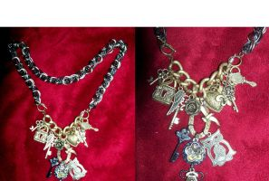 Steampunk Overload Necklace by LadyMidnight81