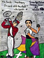 VHS Marching Maroon and White by SailorMoon190