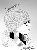 Lauren in digital form by TayMay135