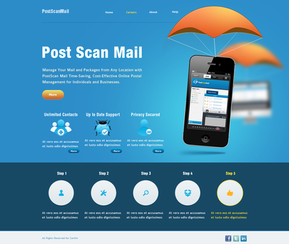 PSM Website Concept 2 by mohamed-amin