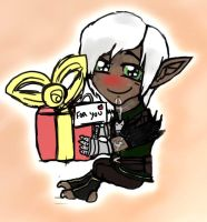 Fenris have a present for you by MayRoco
