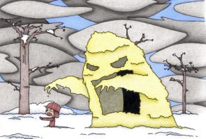 Beware The Yellow Snow by DanceswithPopTarts
