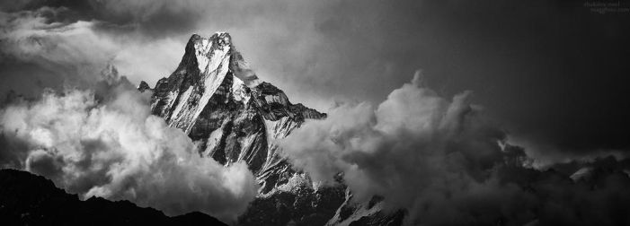 Drama over Machapuchare by ShakilovNeel