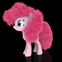 MLP Fluffy - Pinkie Pie by VeryOldBrony