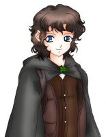 Frodo fanart. by angelsalvia