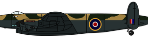 Bronson the Avro Lincoln Stratosphere Bomber by KirovRampager