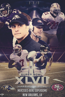 SuperBowl XLVII Poster v3 by DiamondDesignHD